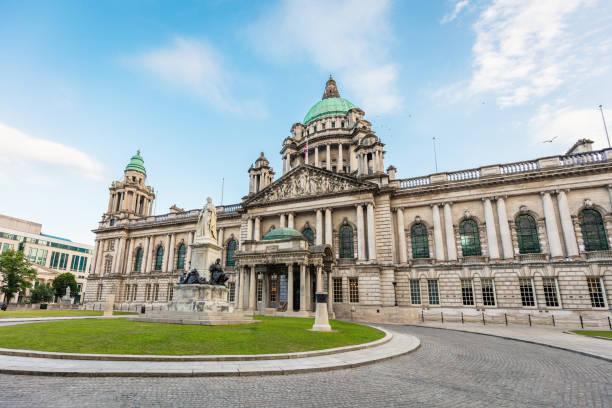 Belfast City Hall Northern Ireland UK stock photo