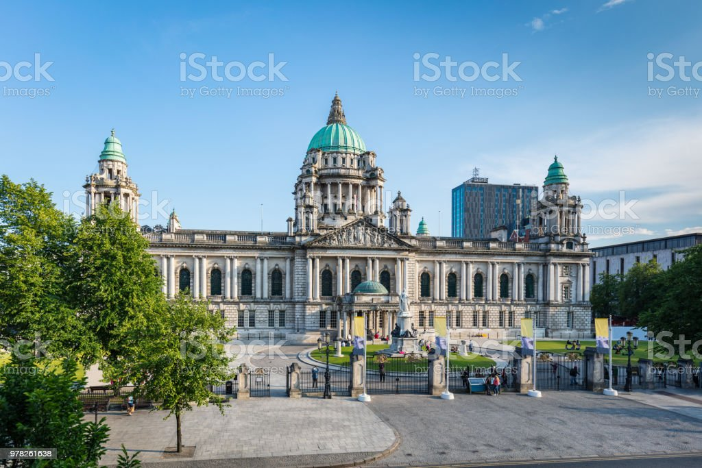 Belfast City Hall Northern Ireland, United Kingdom stock photo