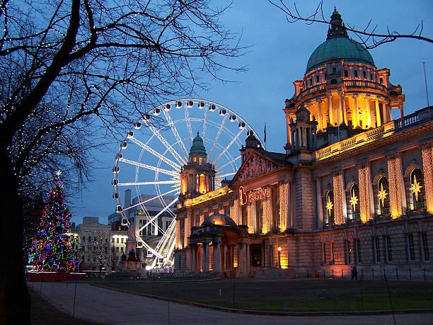 Ayuntamiento de Belfast - foto de stock