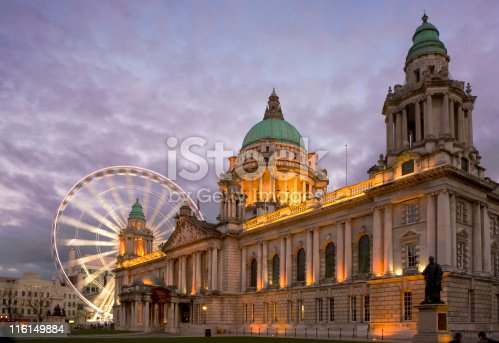 The City Hall Belfast and the 'Belfast Eye'