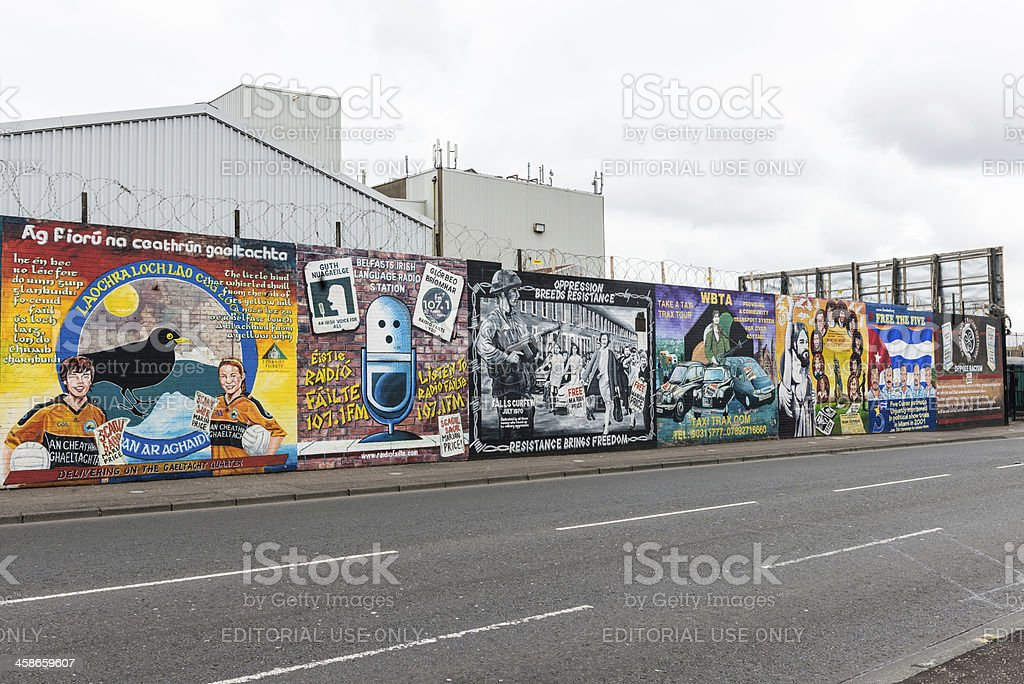 Peintures murales de Belfast - Photo