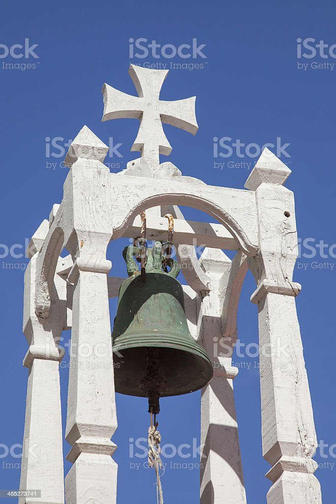 belfry of a typical geek church stock photo
