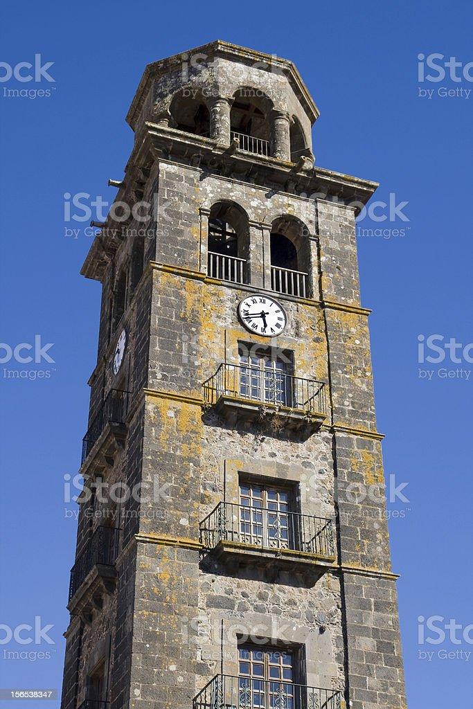 Belfry of La Concepcion royalty-free stock photo