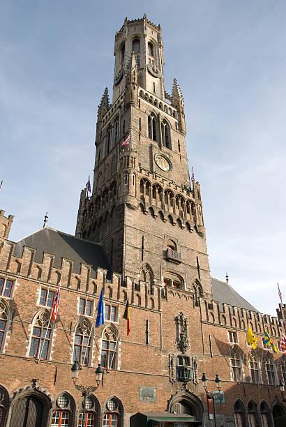 Belfry Tower in Brügge, Belgien – Foto