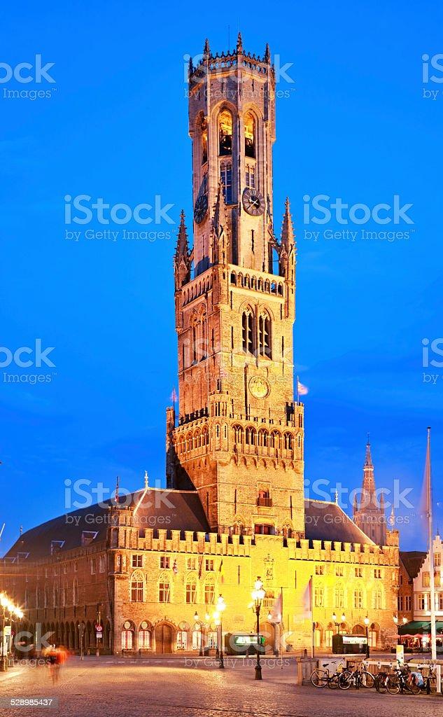 Belfry Башня в Брюгге Бельгия — стоковые фотографии и другие ... dbfdf0ff38552