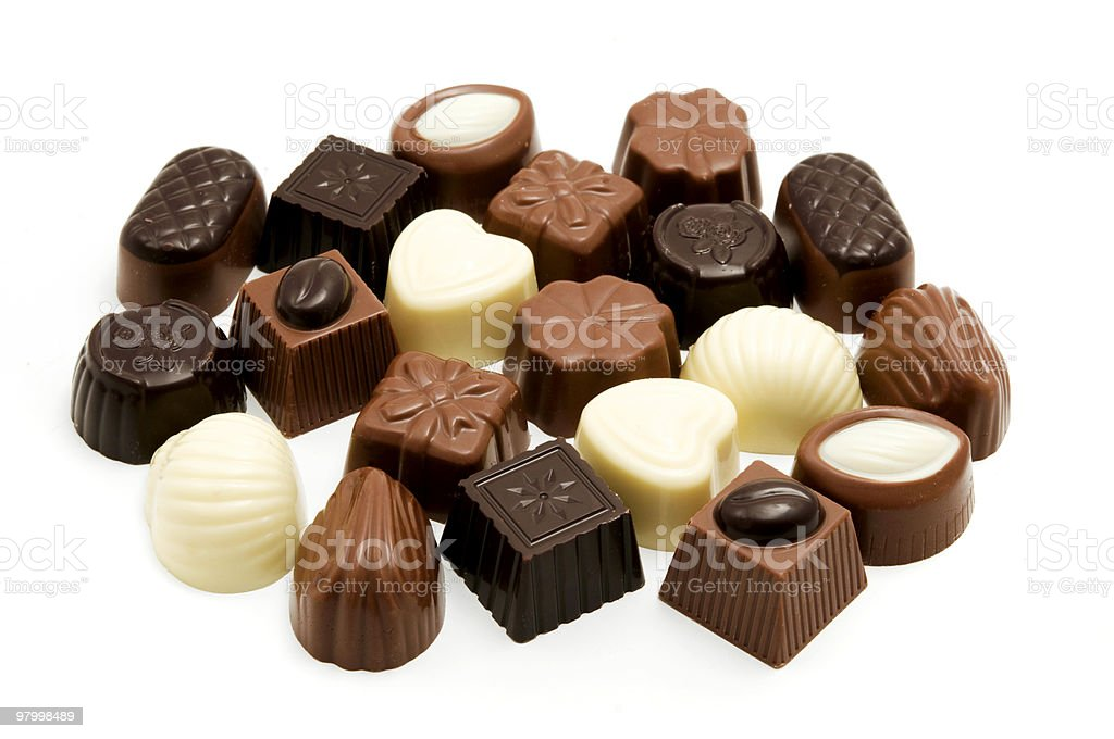 Belgian Chocolate royalty-free stock photo