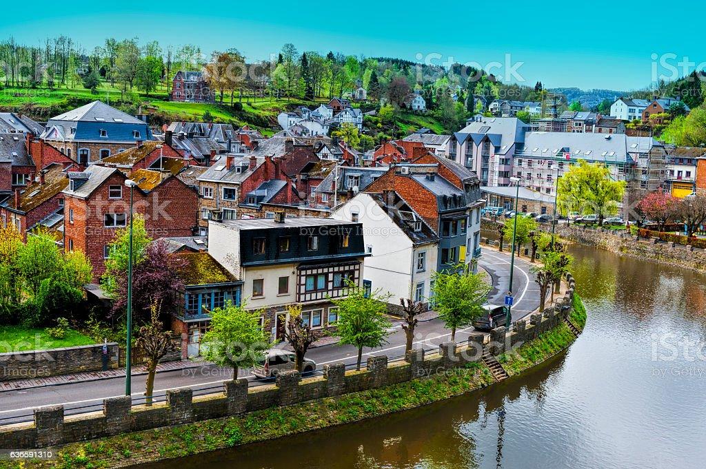 Belgian City of La Roche - Photo
