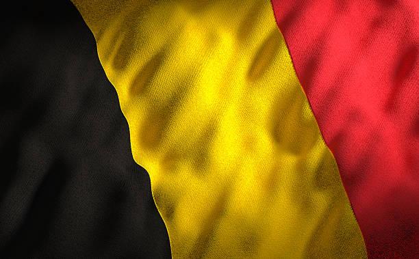 Belgian flag stock photo