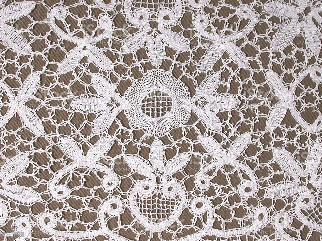 Belgian Lace II royalty-free stock photo