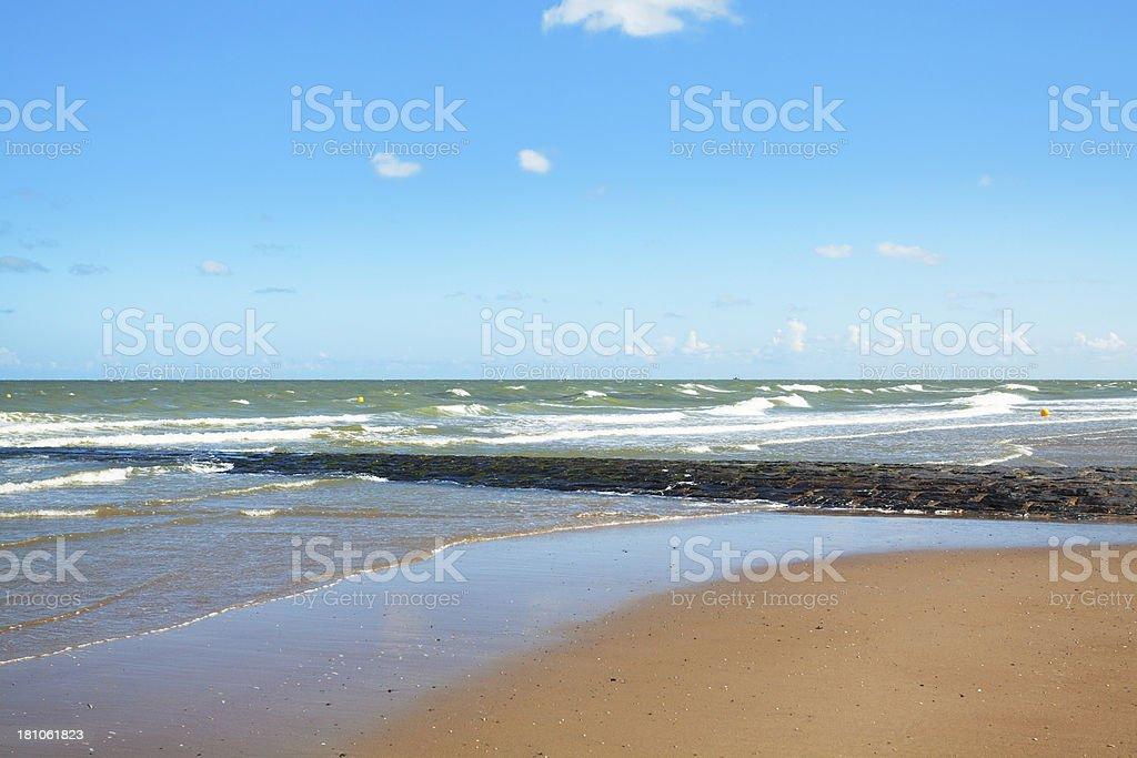 Belgian North Sea coast foto