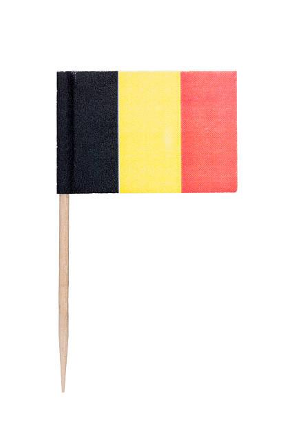Belgian paper flag foto