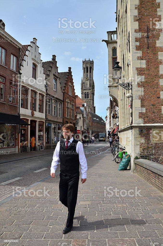 Model Hooker in Bruges