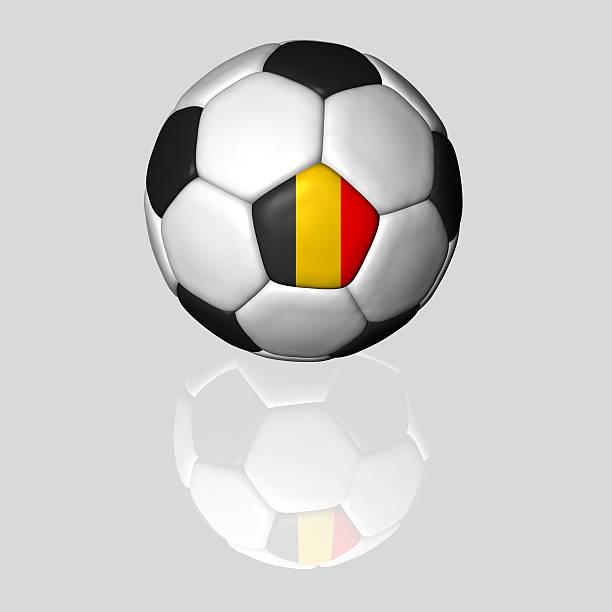belgian soccer ball stock photo