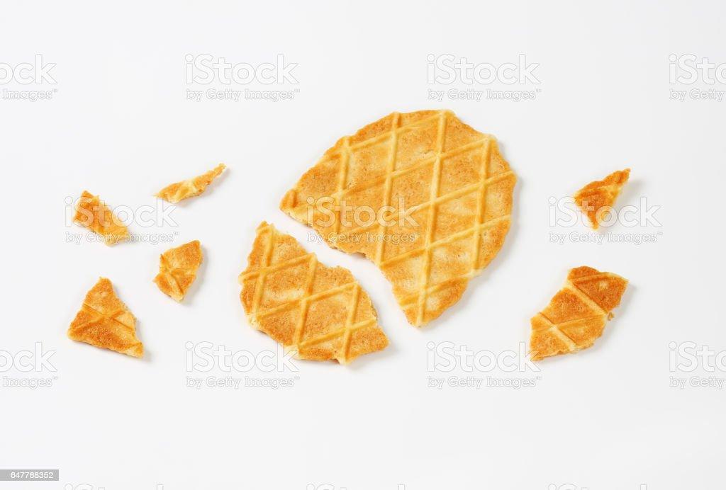 Biscuit beurre gaufre belge - Photo