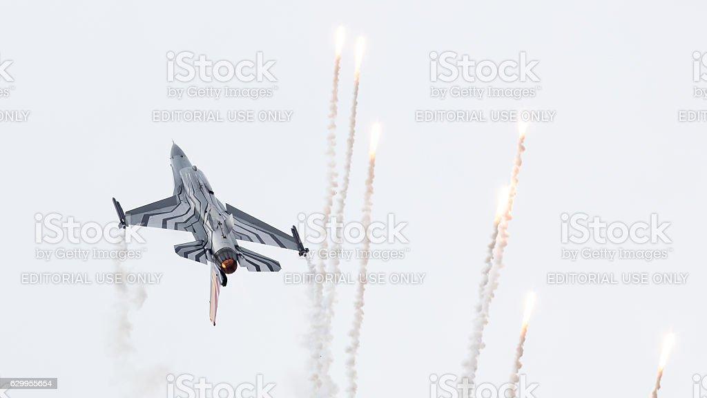 Belgium - Air Force General Dynamics F-16 AM stock photo