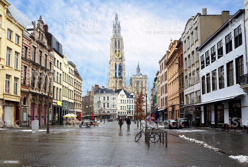 La Belgique. Anvers. - Photo