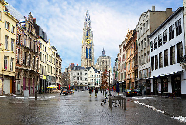 La Belgique. Anvers. - Photo