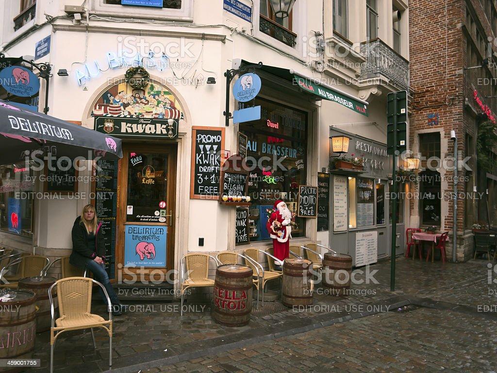 Belgium bar stock photo