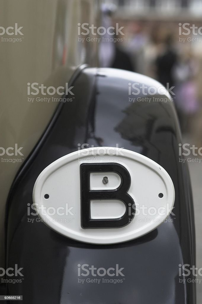 Belgium car royalty-free stock photo