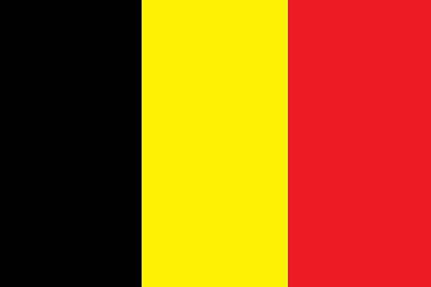 Belgium flag stock photo
