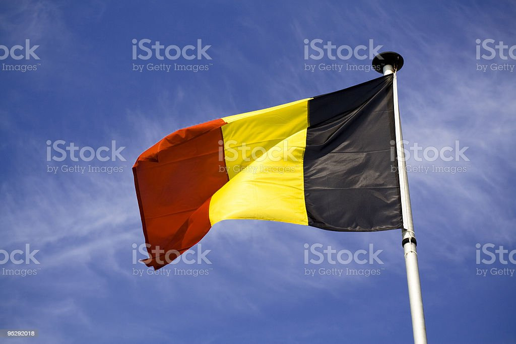 Belgium flag foto