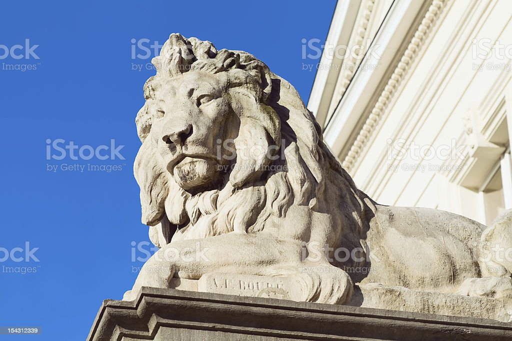 Belgium Lion stock photo