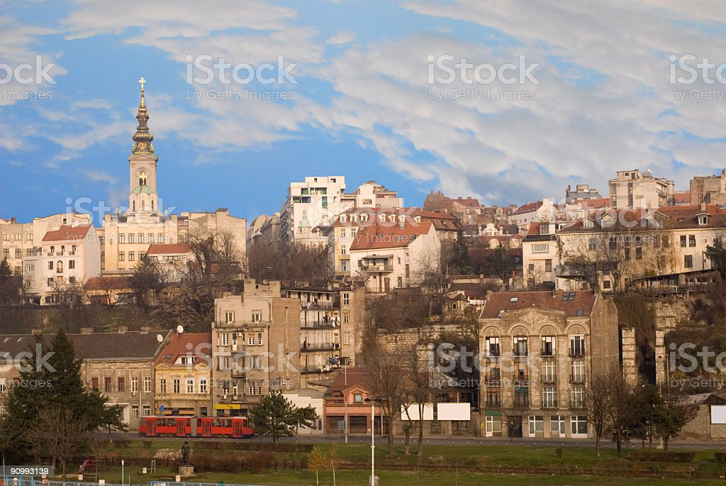 belgrade, capital of serbia royalty-free stock photo