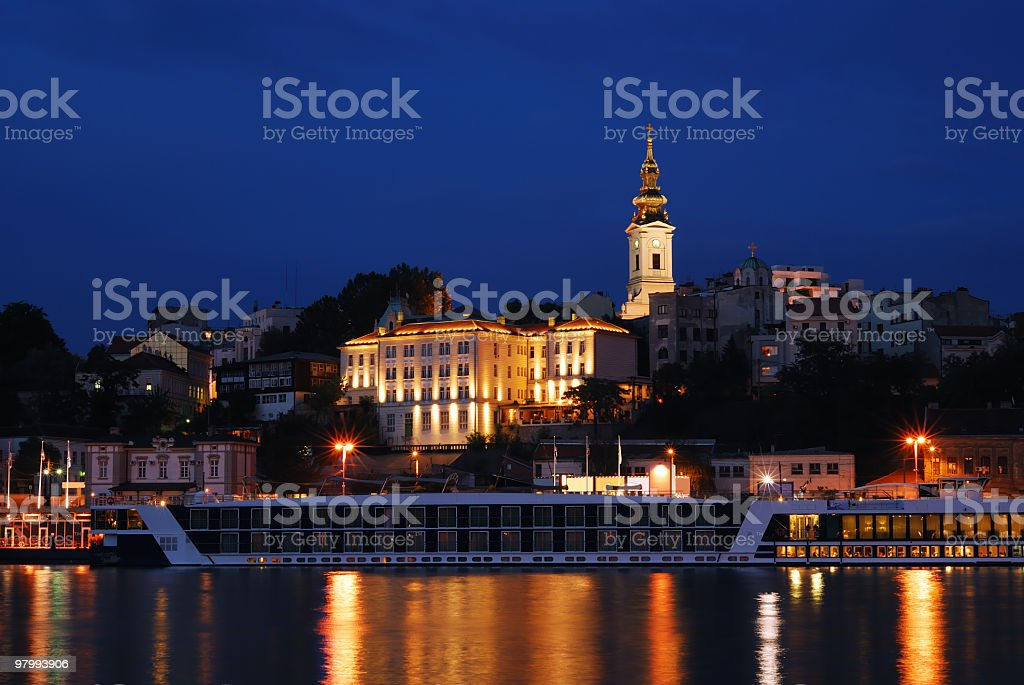 belgrade, capital of serbia royalty-free stock photo