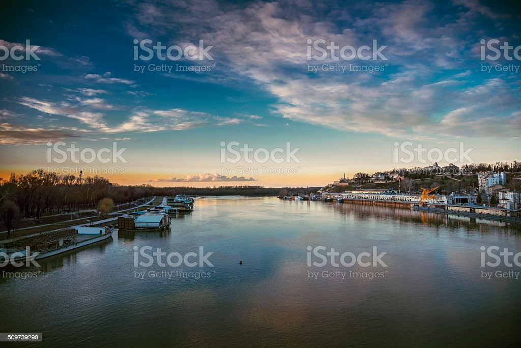 Belgrade city, Serbia stock photo