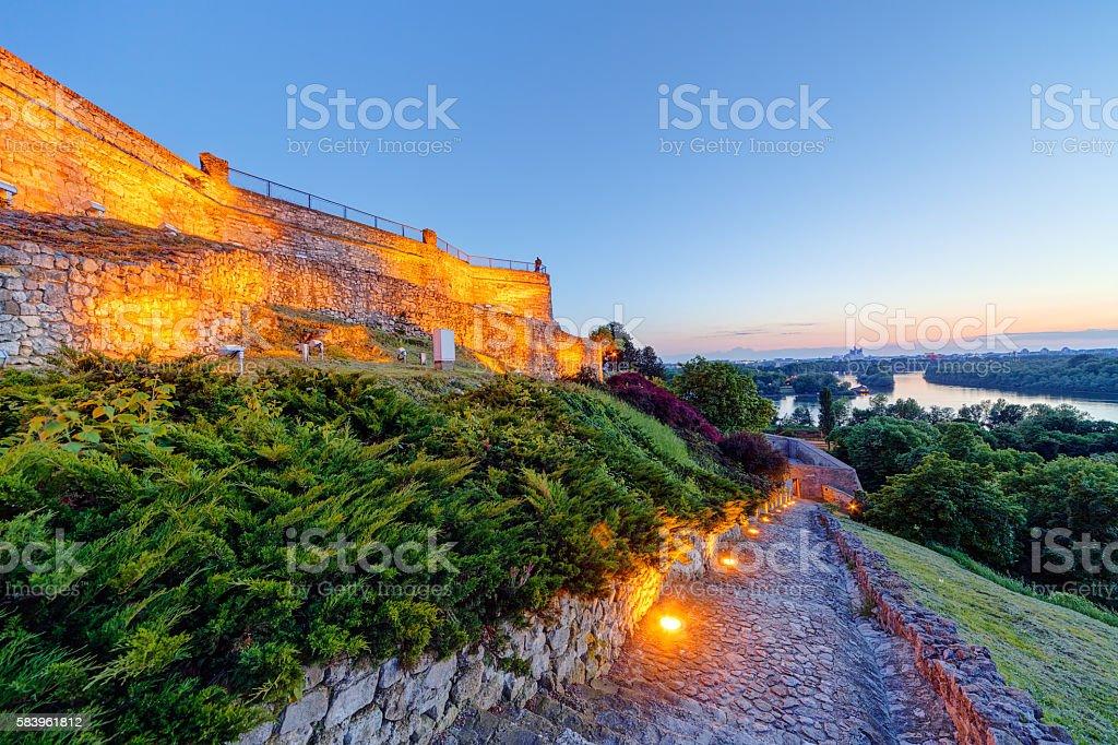 Belgrade Forteresse de Kalemegdan et le parc - Photo