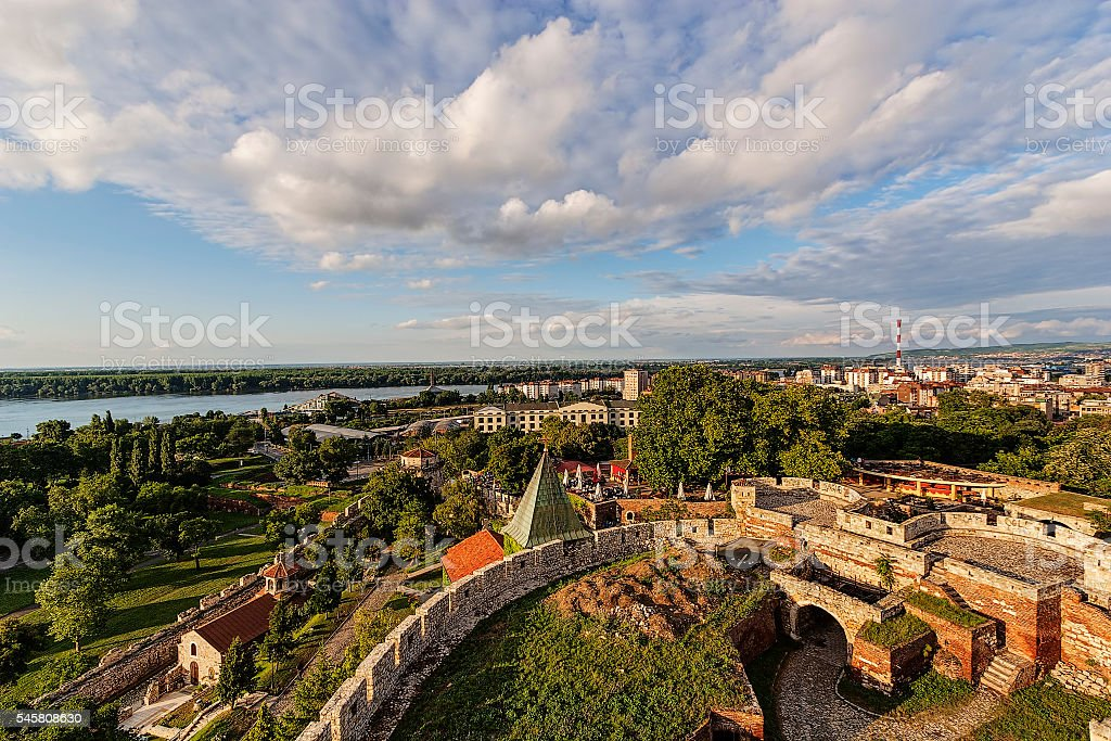 Belgrade fortress and panorama view - Photo