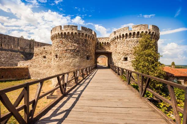 Belgrade Kalemegdan fortress Zindan Gate (Kapija) Complex, Kalemegdan Fortress, Belgrade, Serbia belgrade serbia stock pictures, royalty-free photos & images