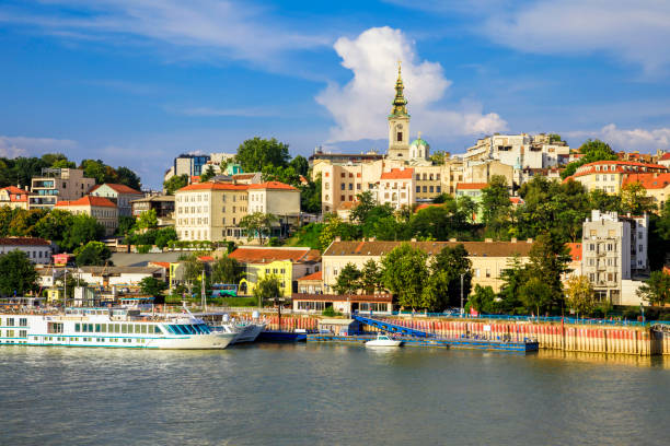 belgrade old city - serbia stock pictures, royalty-free photos & images