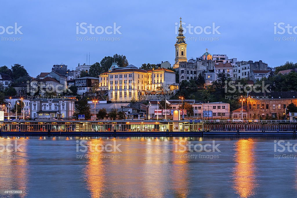 Belgrade stock photo