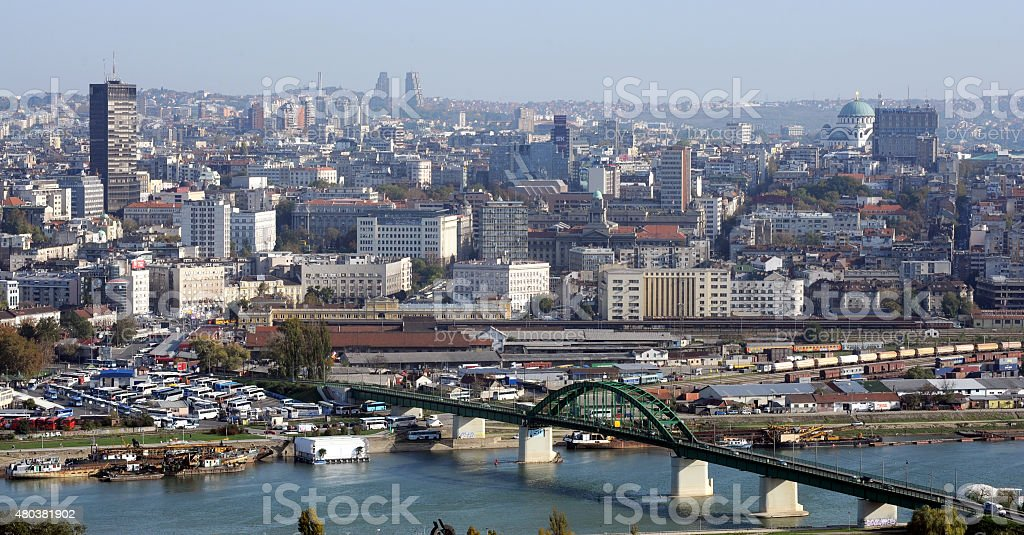 Belgrade, la capitale de la République de Serbie - Photo