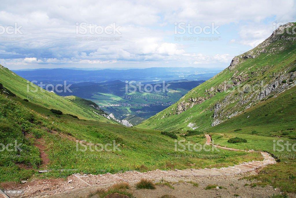 Belianske Tatras stock photo