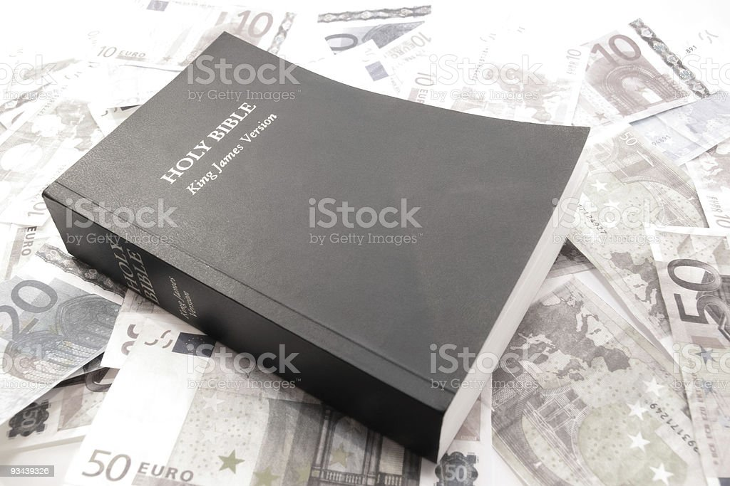 believe and receive stock photo
