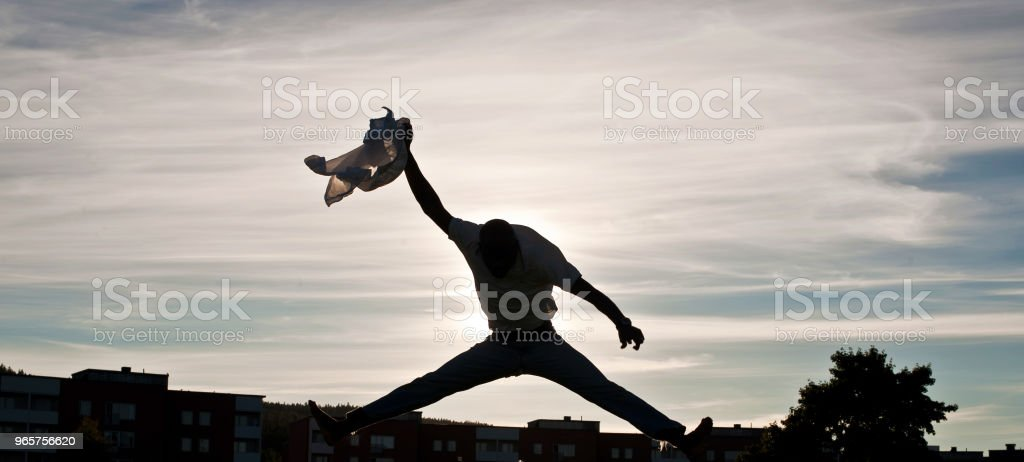 I Believe I Can Fly - Royalty-free Adulto Foto de stock