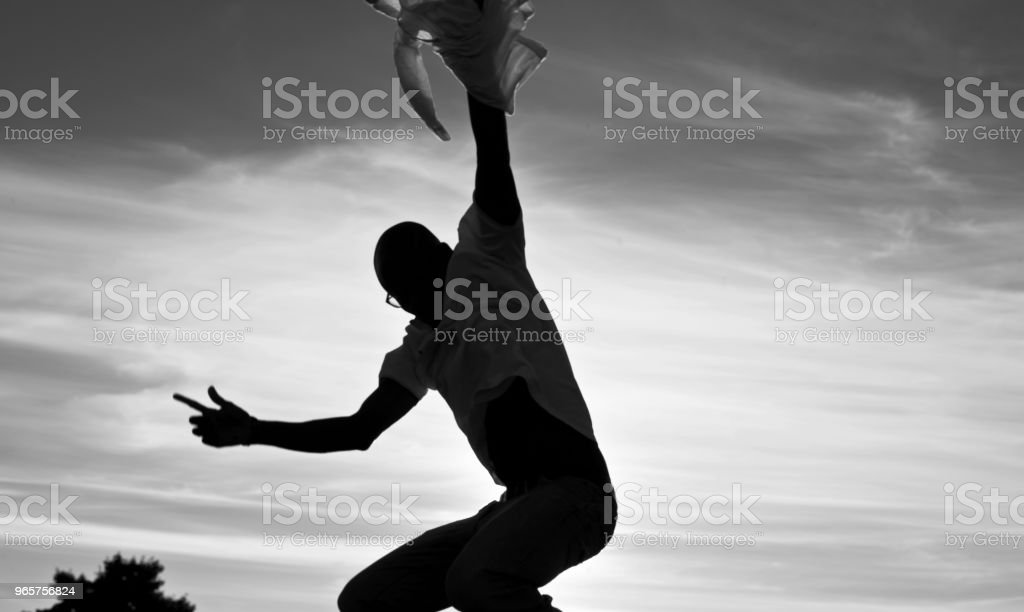 I Believe I Can Fly - Royalty-free Adult Stock Photo