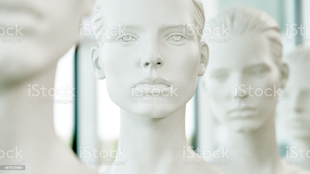 Believe in equality stock photo