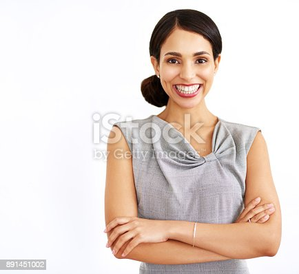 istock Believe in yourself and you've already made it 891451002