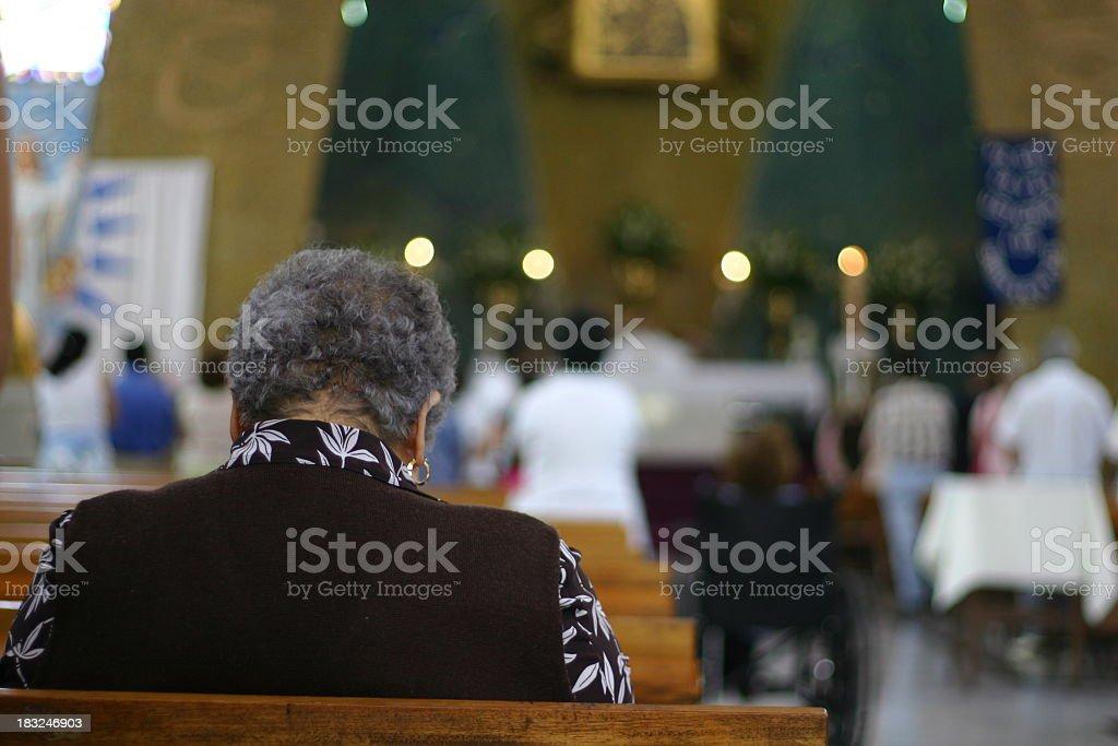 believers royalty-free stock photo