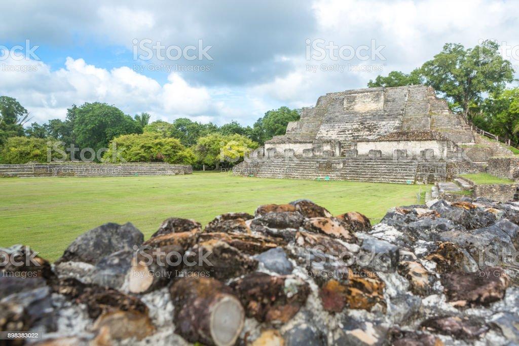 Belize Central America Altun Ha stock photo