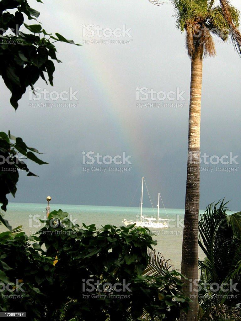 Belizean Rainbow royalty-free stock photo
