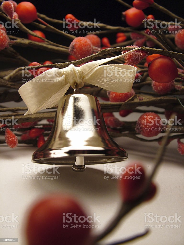 Bell and Berries stock photo