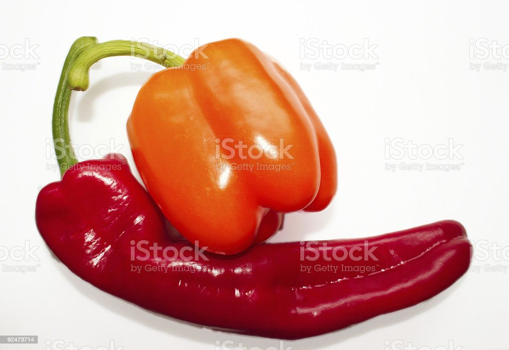 bell and sweet peppers royalty-free stock photo