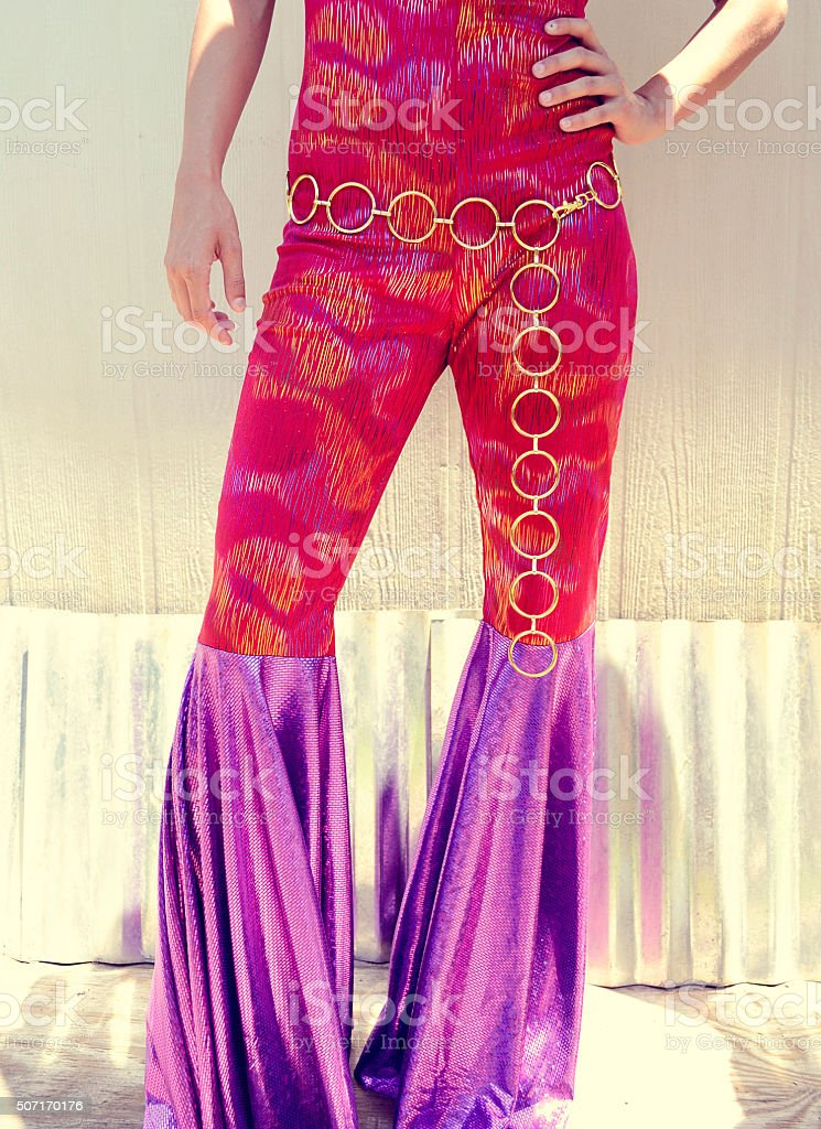 Bell Bottoms stock photo