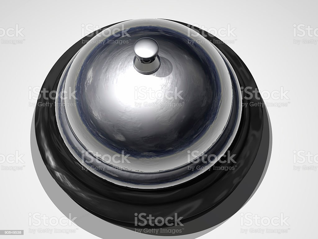 Bell for Servicing!-2 of 4 royalty-free stock photo