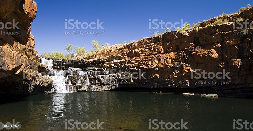 Bell Gorge royalty-free stock photo