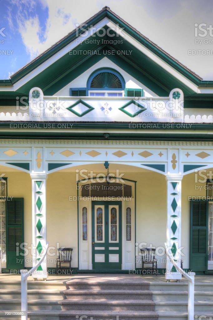 Bell Homestead, home of Alexander Graham Bell in Brantford, Canada stock photo
